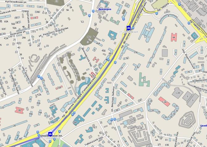 Карта расположения нашего офиса Гербалайф